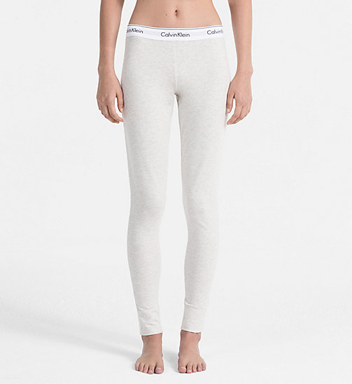 CALVINKLEIN Leggings - Modern Cotton - SNOW HEATHER_NEON NEPS - CALVIN KLEIN UNDERWEAR - main image
