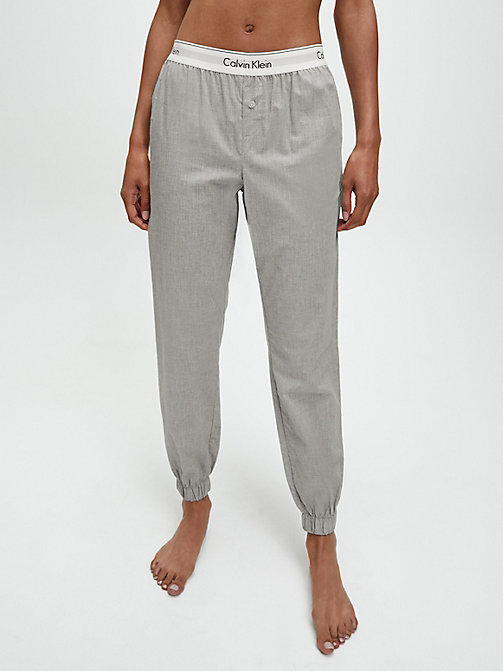 CALVINKLEIN Joggingbroek - Modern Cotton - GREY HEATHER -  PYJAMABROEKEN - main image