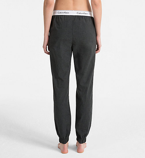 CALVINKLEIN Joggers - CHARCOAL HEATHER - CALVIN KLEIN LOUNGE PANTS - detail image 1