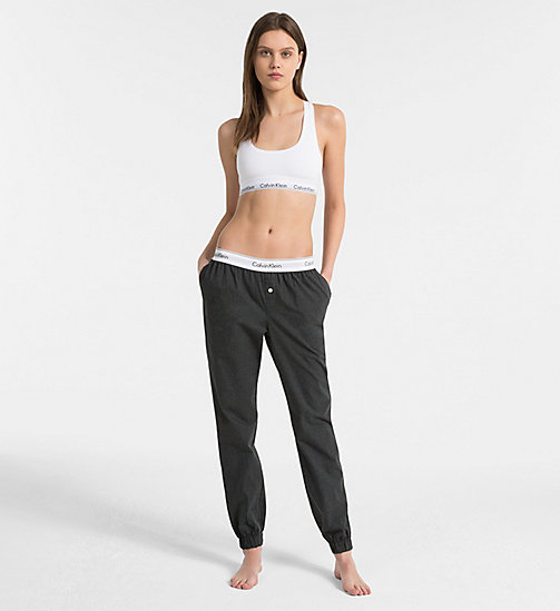 CALVIN KLEIN Joggingbroek - Modern Cotton - CHARCOAL HEATHER - CALVIN KLEIN BAS DÉTENTE - image détaillée 1