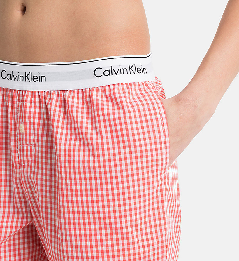 CALVIN KLEIN Sweatpants - Modern Cotton - GREY HEATHER - CALVIN KLEIN UNDERWEAR - detail image 2