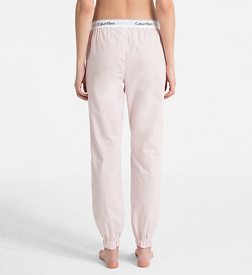 CALVIN KLEIN Sweatpants - Modern Cotton - NYMPHS HEATHER - CALVIN KLEIN LOUNGE PANTS - detail image 1