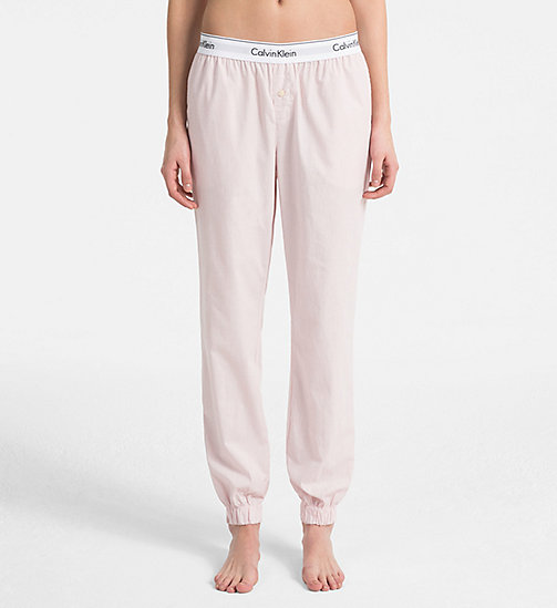 CALVIN KLEIN Sweatpants - Modern Cotton - NYMPHS HEATHER - CALVIN KLEIN LOUNGE PANTS - main image