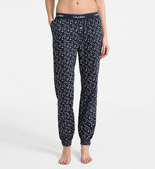 CALVIN KLEIN Sweatpants - Modern Cotton - SUBTLE STARS_SHORELINE_CF - CALVIN KLEIN LOUNGE PANTS - main image