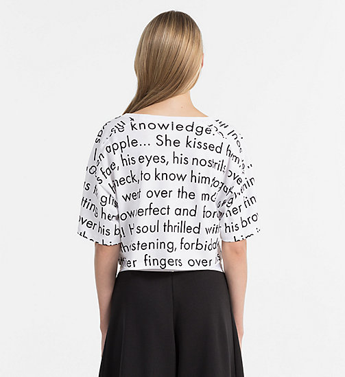 CALVINKLEIN Cropped T-Shirt - Modern Cotton - WOMEN IN LOVE - CALVIN KLEIN LOUNGE-TOPS - main image 1
