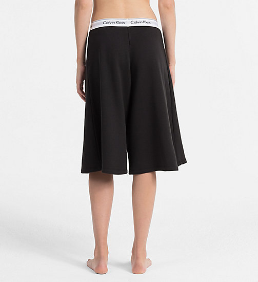 CALVINKLEIN Capri Jogging Pants - Modern Cotton - BLACK - CALVIN KLEIN LOUNGE PANTS - detail image 1