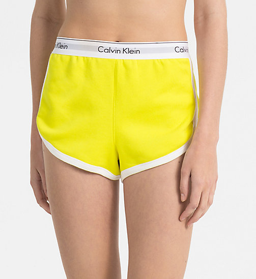 CALVINKLEIN PJ Shorts - Modern Cotton - SUNGLOW - CALVIN KLEIN PYJAMA BOTTOMS - main image