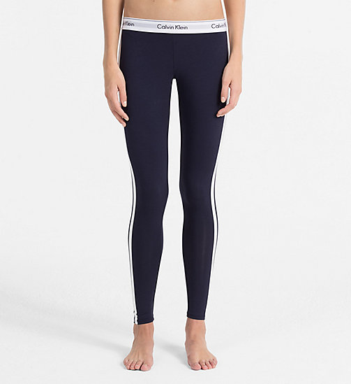 CALVINKLEIN Leggings - Modern Cotton - SHORELINE VARSITY STRIPE - CALVIN KLEIN LOUNGE PANTS - main image