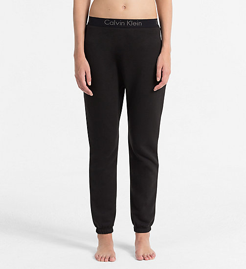CALVINKLEIN Jogging Pants - Body - BLACK - CALVIN KLEIN LOUNGE PANTS - main image