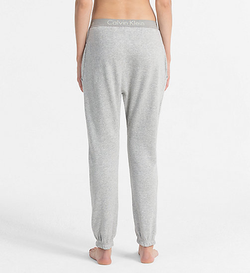 CALVINKLEIN Jogging Pants - Body - GREY HEATHER - CALVIN KLEIN LOUNGE PANTS - detail image 1