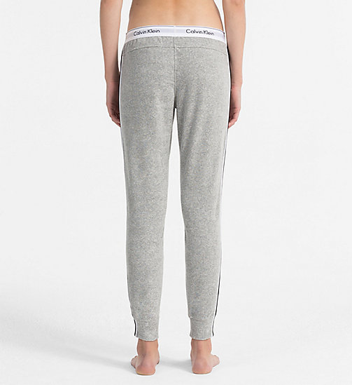 CALVINKLEIN Jogging Pants - Modern Cotton - GREY HEATHER - CALVIN KLEIN LOGO SHOP - detail image 1