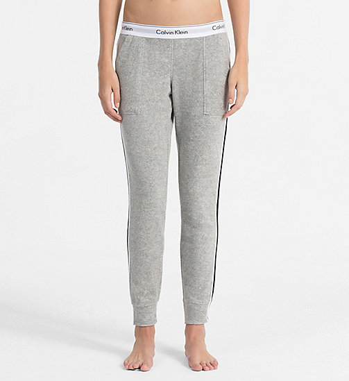 CALVINKLEIN Jogging Pants - Modern Cotton - GREY HEATHER - CALVIN KLEIN LOGO SHOP - main image