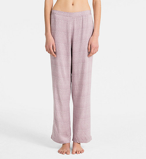 CALVINKLEIN PJ Pants - ARCHIVE FEATHERS - CALVIN KLEIN PYJAMA BOTTOMS - main image
