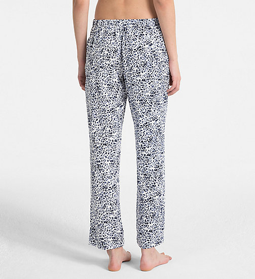 CALVINKLEIN Pantalon de pyjama - EFFORTLESS ANIMAL - CALVIN KLEIN SOUS-VÊTEMENTS - image détaillée 1