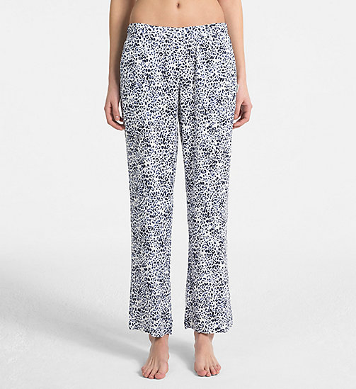 CALVINKLEIN PJ Pants - EFFORTLESS ANIMAL - CALVIN KLEIN NEW FOR WOMEN - main image
