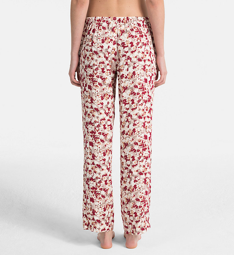 CALVINKLEIN PJ Pants - EFFORTLESS ANIMAL - CALVIN KLEIN UNDERWEAR - detail image 1