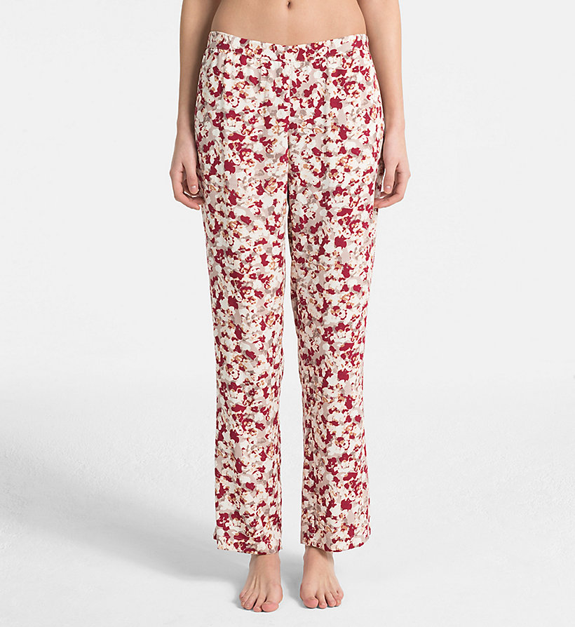 CALVINKLEIN PJ Pants - EFFORTLESS ANIMAL - CALVIN KLEIN UNDERWEAR - main image