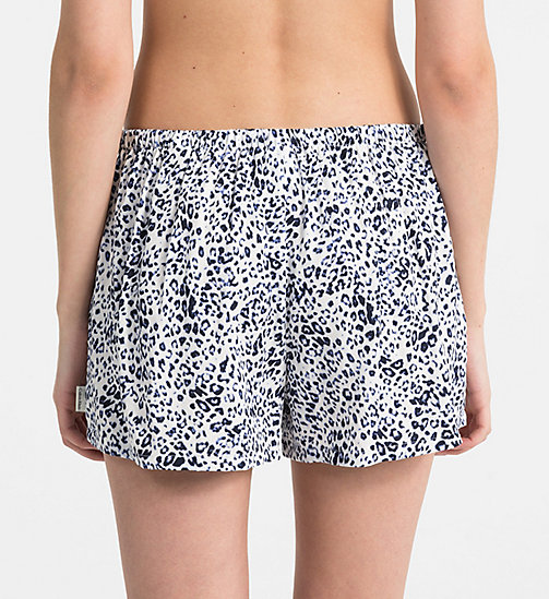 CALVINKLEIN PJ Shorts - EFFORTLESS ANIMAL - CALVIN KLEIN PYJAMA BOTTOMS - detail image 1