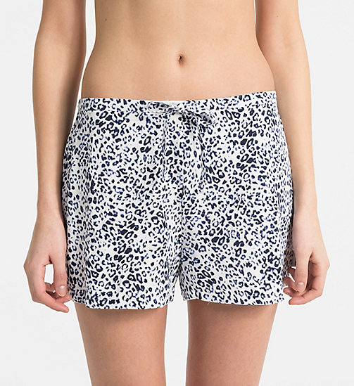 CALVINKLEIN PJ Shorts - EFFORTLESS ANIMAL - CALVIN KLEIN PYJAMA BOTTOMS - main image
