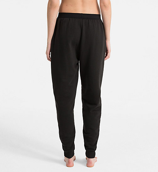 CALVINKLEIN Joggingbroek - Monogram - BLACK - CALVIN KLEIN MONOGRAM FOR HER - detail image 1