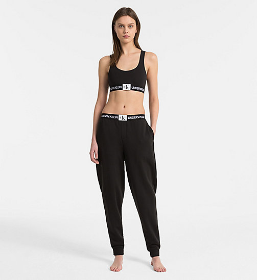 CALVIN KLEIN Jogginghose - Monogram - BLACK -  MONOGRAM FOR HER - main image 1
