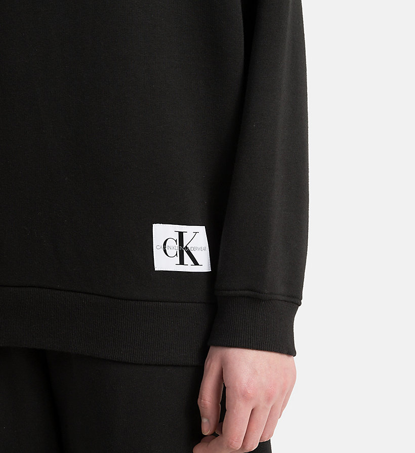 CALVIN KLEIN Sweatshirt - Monogram - GREY HEATHER - CALVIN KLEIN WOMEN - detail image 2