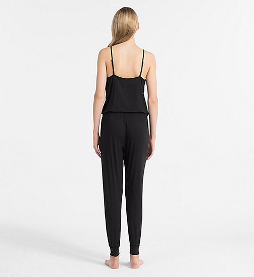 CALVINKLEIN Jumpsuit - Sculpted - BLACK - CALVIN KLEIN NIGHTDRESSES - detail image 1