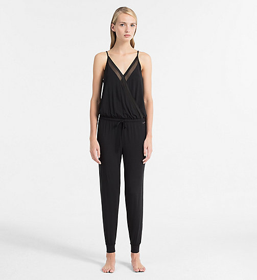 CALVINKLEIN Jumpsuit - Sculpted - BLACK - CALVIN KLEIN NIGHTDRESSES - main image
