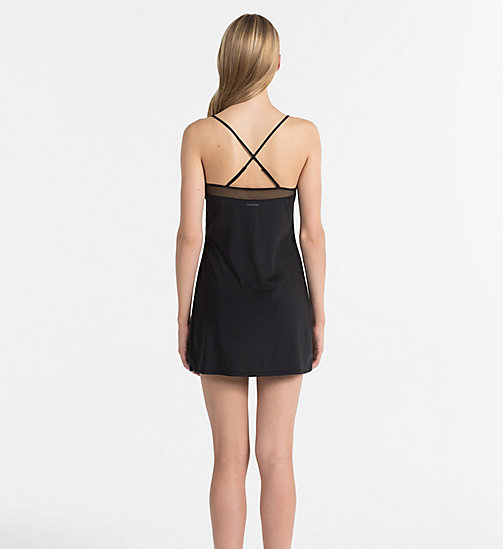 CALVINKLEIN Chemise - Youthful Lingerie - BLACK - CALVIN KLEIN NIGHTDRESSES - detail image 1