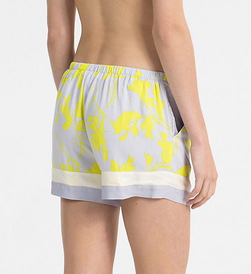 CALVINKLEIN PJ Shorts - ABSTRACT VINES - CALVIN KLEIN PYJAMA BOTTOMS - detail image 1