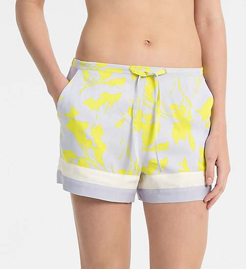 CALVINKLEIN PJ Shorts - ABSTRACT VINES - CALVIN KLEIN PYJAMA BOTTOMS - main image