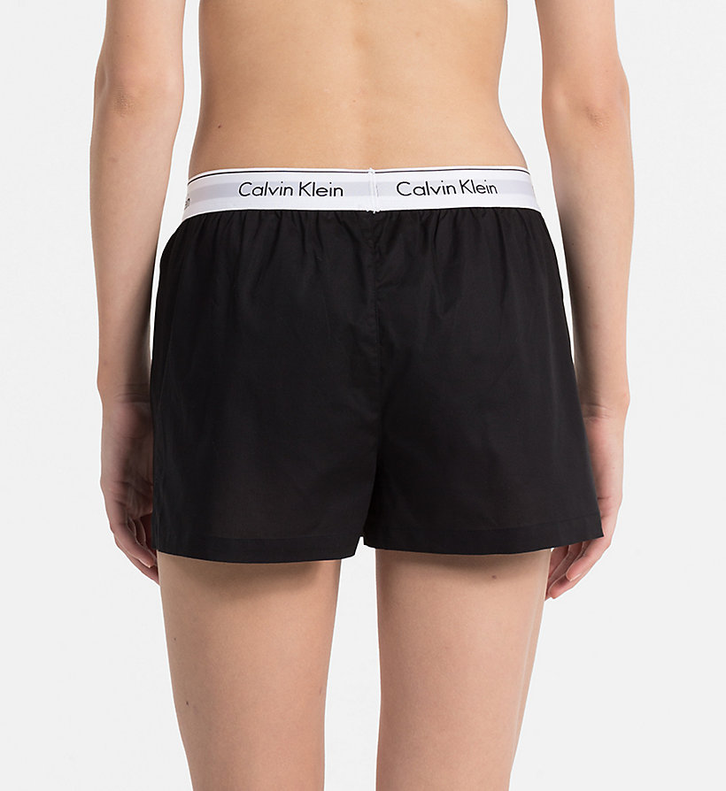 CALVINKLEIN PJ Shorts - Modern Cotton - GREY HEATHER - CALVIN KLEIN WOMEN - detail image 1