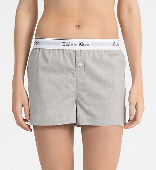 CALVINKLEIN PJ Shorts - Modern Cotton - GREY HEATHER - CALVIN KLEIN UNDERWEAR - main image