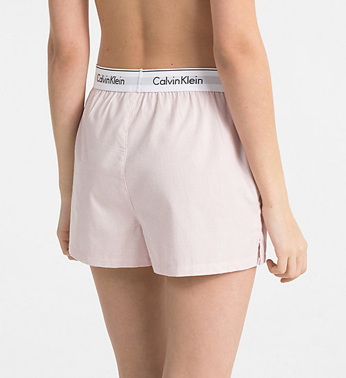CALVINKLEIN PJ Shorts - NYMPH'S HEATHER - CALVIN KLEIN PYJAMA BOTTOMS - detail image 1