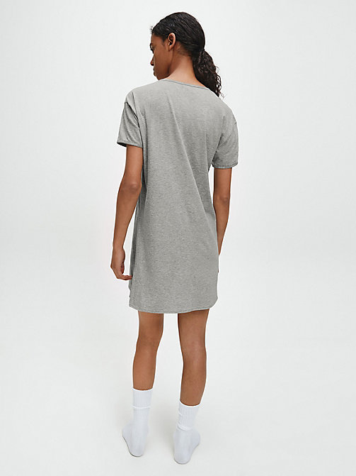CALVINKLEIN Nightshirt - Youthful Lingerie - GREY HEATHER - CALVIN KLEIN NIGHTDRESSES - detail image 1