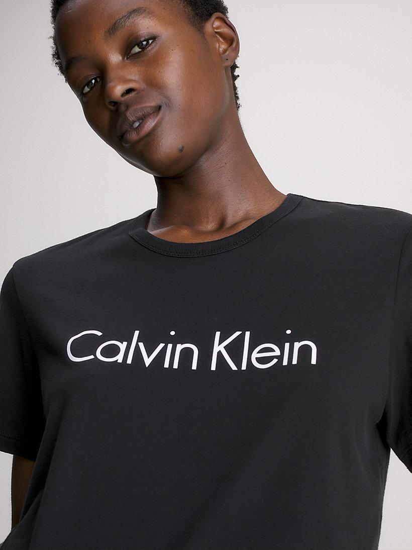 logo t shirt calvin klein 000qs6105e100. Black Bedroom Furniture Sets. Home Design Ideas