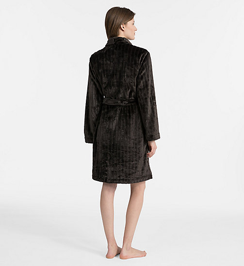 CALVIN KLEIN Robe - BLACK - CALVIN KLEIN ALL GIFTS - detail image 1