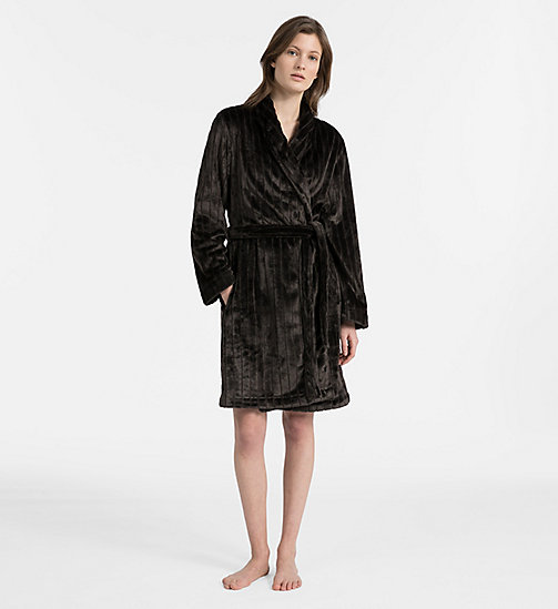 CALVIN KLEIN Robe - BLACK - CALVIN KLEIN ALL GIFTS - main image