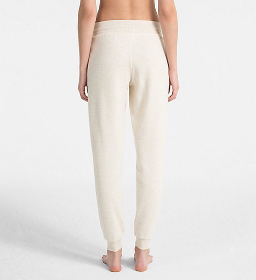 CALVINKLEIN Joggers - Youthful Lingerie - SPARROW HEATHER - CALVIN KLEIN LOUNGE PANTS - detail image 1