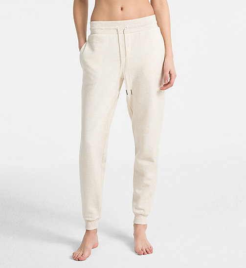 CALVIN KLEIN Joggers - Youthful Lingerie - SPARROW HEATHER - CALVIN KLEIN LOUNGE PANTS - main image