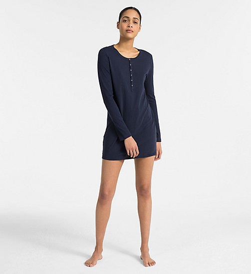CALVINKLEIN Nightshirt - Youthful Lingerie - SHORELINE - CALVIN KLEIN NEW FOR WOMEN - main image