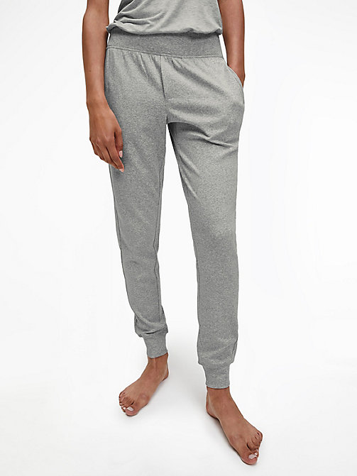 CALVIN KLEIN Joggers - CK Form - GREY HEATHER - CALVIN KLEIN LOUNGE PANTS - main image