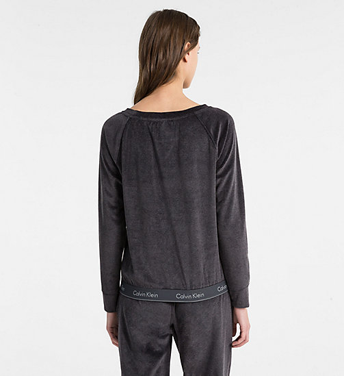CALVINKLEIN Sweatshirt - Modern Cotton - WASHED BLACK - CALVIN KLEIN NEW IN - detail image 1