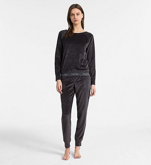 CALVIN KLEIN Joggingbroek - Modern Cotton - WASHED BLACK - CALVIN KLEIN LOUNGE BROEKEN - detail image 1