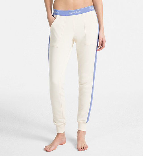 CALVIN KLEIN Joggers - Modern Cotton - IVORY - CALVIN KLEIN NEW FOR WOMEN - detail image 1