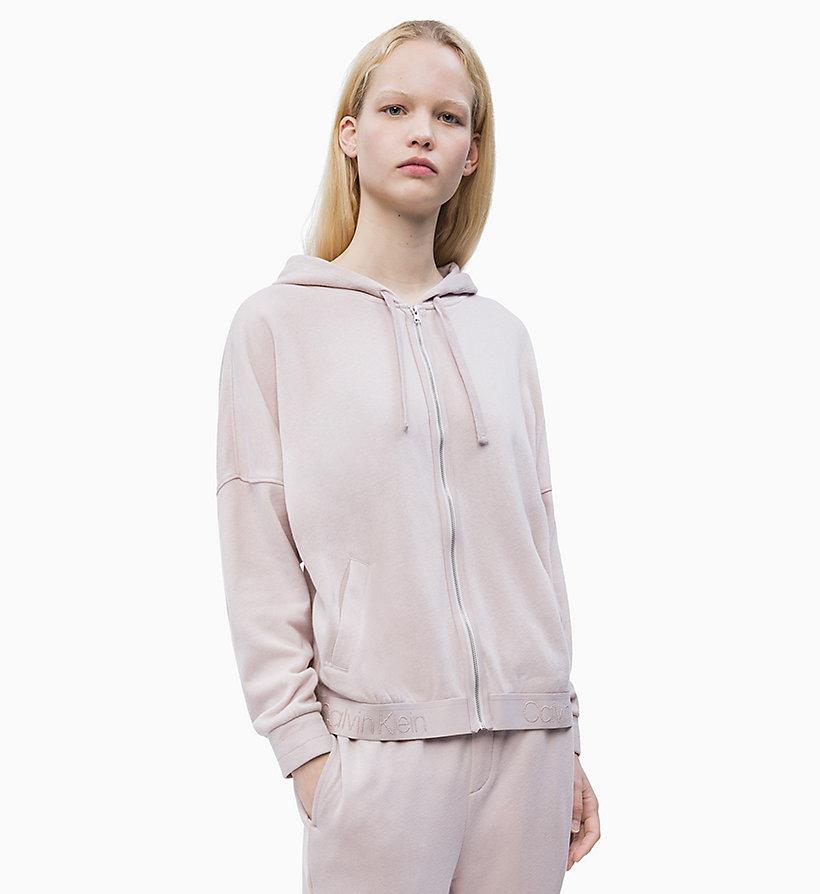 0cd91a9031 Zip Through Hoodie - Tonal Logo Calvin Klein®
