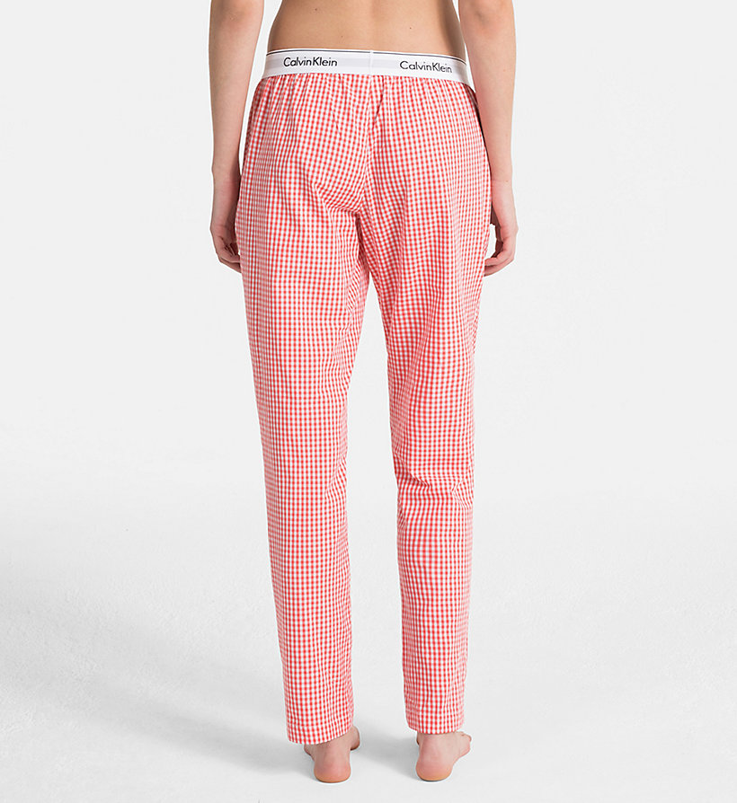 CALVIN KLEIN PJ Pants - SIMPLE FLORAL_LYRIA BLUE - CALVIN KLEIN WOMEN - detail image 1