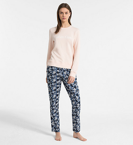CALVIN KLEIN PJ Pants - SIMPLE FLORAL_LYRIA BLUE - CALVIN KLEIN ALL GIFTS - detail image 1