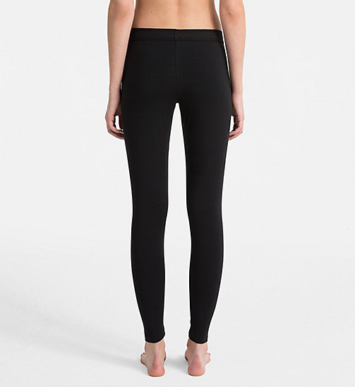 CALVINKLEIN Leggings - Monogram - BLACK - CALVIN KLEIN MONOGRAM FOR HER - detail image 1