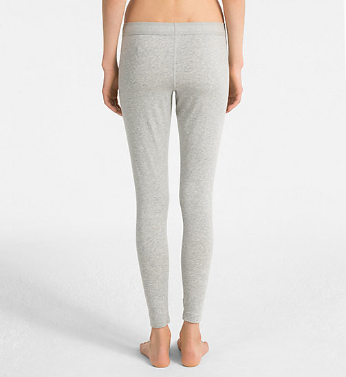 CALVINKLEIN Legging - Monogram - GREY HEATHER - CALVIN KLEIN MONOGRAM FOR HER - image détaillée 1